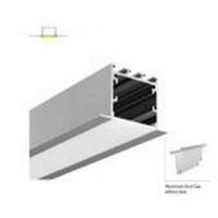 Алуминиев профил вграден монтаж за LED лента матиран разсейвател